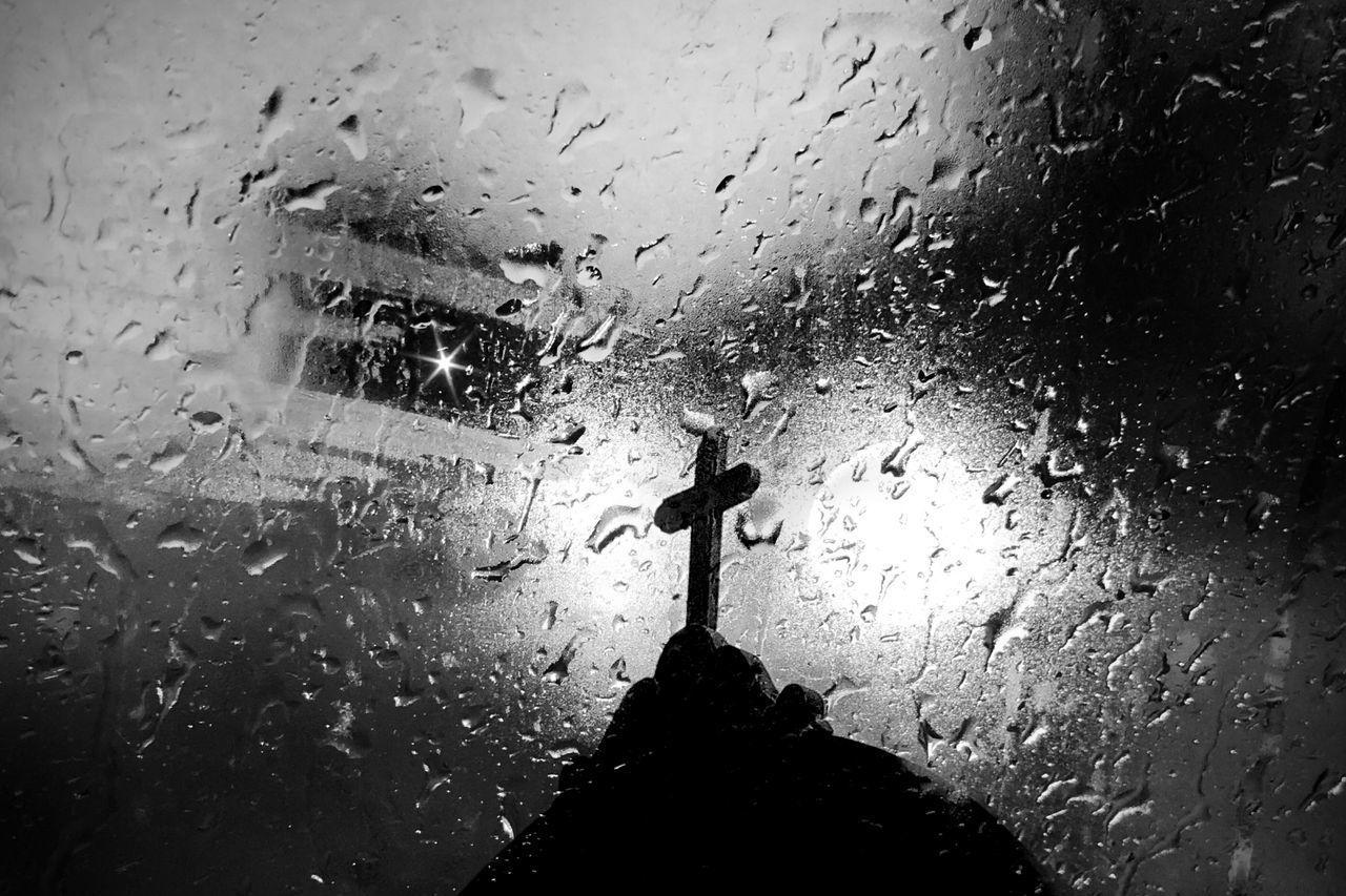 wet, water, drop, rain, glass - material, transparent, window, indoors, rainy season, no people, nature, vehicle interior, raindrop, car, mode of transportation, monsoon, windshield, glass