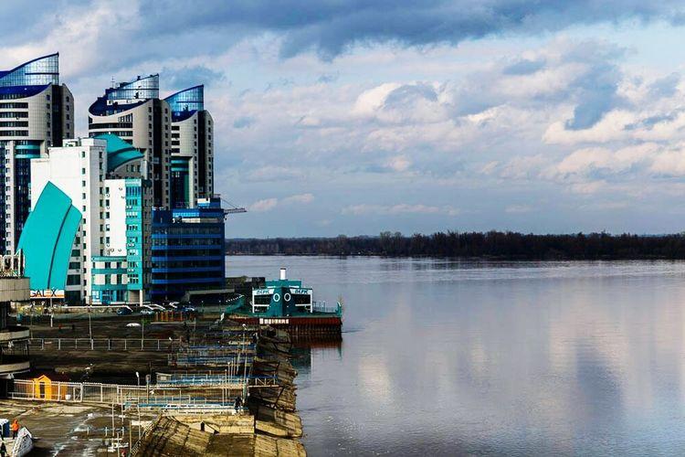 Город Барнаул. Речной Вокзал. Река Обь First Eyeem Photo