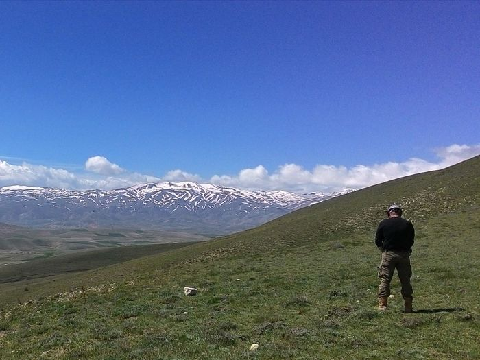 The greatest Toilet in the world! Turkey Landscape Mountains Sky Clouds Snow Springtime Ndt Erzincan Pipeline