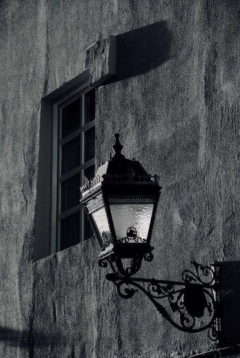Sconce Bilbao Black & White Façade Architecture Blackandwhite Building Exterior Built Structure Close-up Evening Historic Lamp Low Angle View No People Sconce Black And White Friday