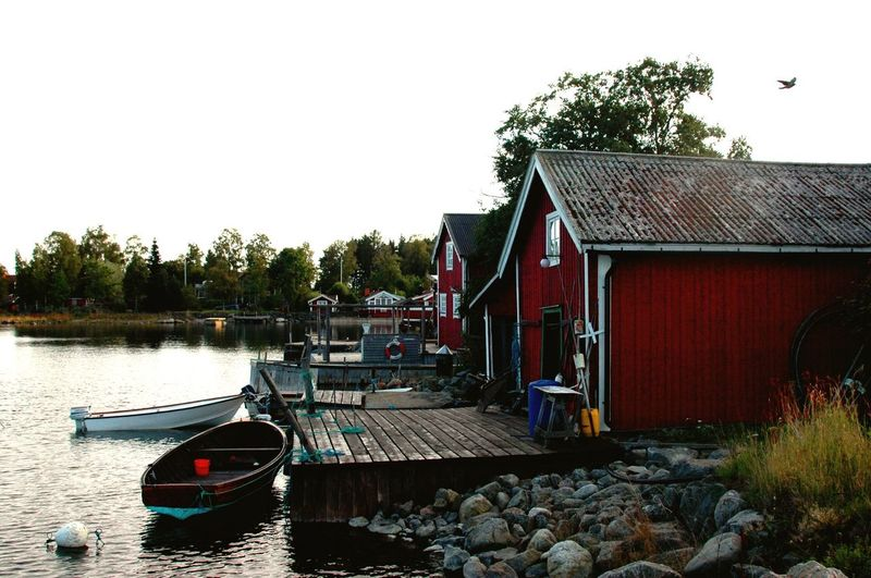 Sweden Summertime in Sweden sweden-landscape Swedish swedishsummer swedishmoments Boats⛵️ boats boats boats boathouse boathouses OnTheWater water Water reflections water_collection waterfront Waterscape Nikon nikonphotography nikond70