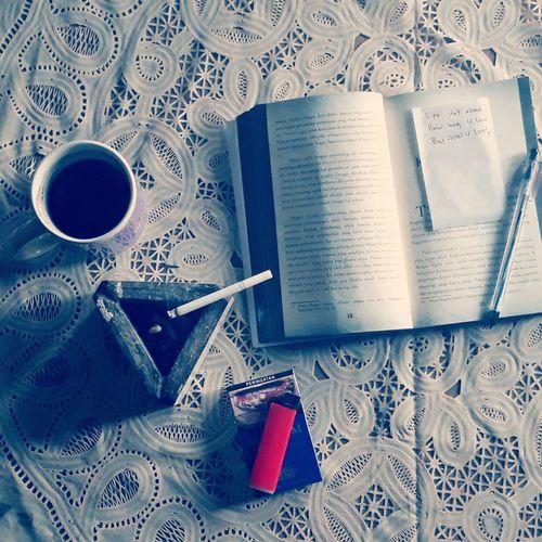Morningactivity Coffee Paper Book First Eyeem Photo