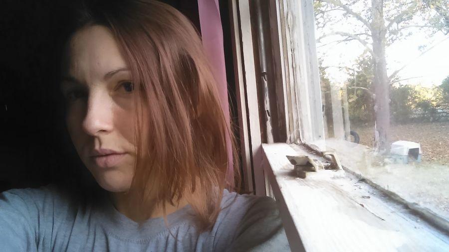 Window One Person Headshot Winter Just Woke Up!!