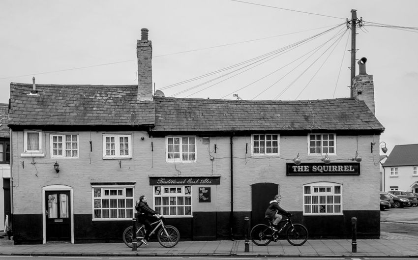 The Squirrel, Church Street, Rugby, Warwickshire Rugby Pubs Warwickshire Rugby Rugbytown Pubs Black And White Monochrome Architecture