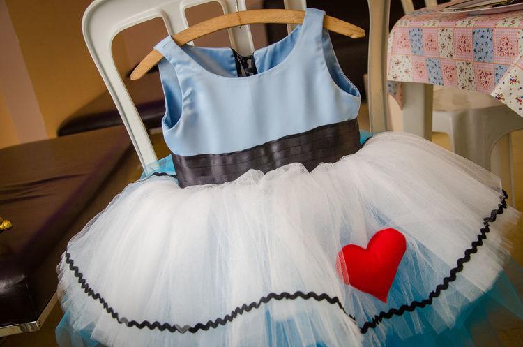 Dress Baby Dress Blue Dress Heart