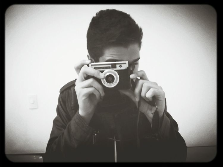 Vintage Taking Photos Me