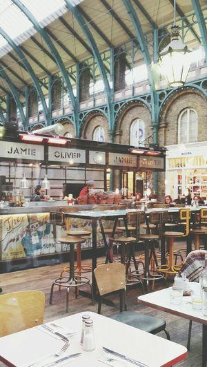 Jamie Oliver Jamie Oliver Restaurant Restaurant at Convent Garden London