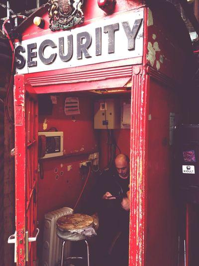 Security London Camden Lock