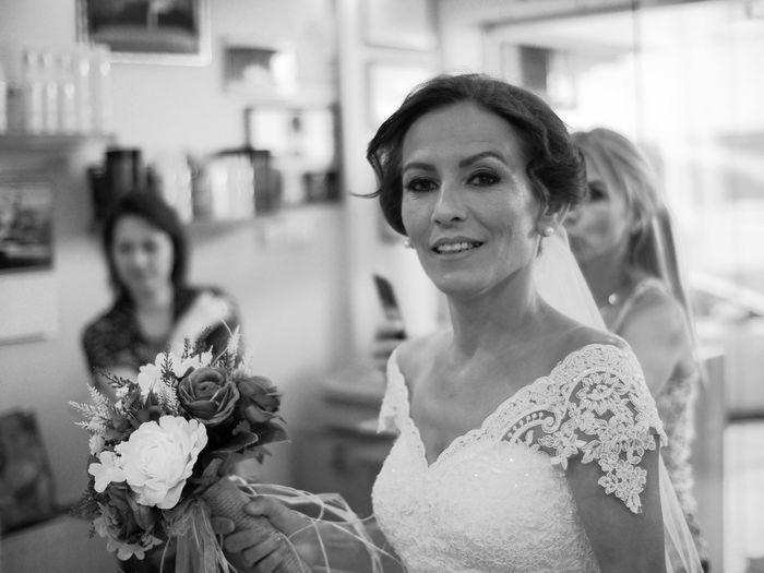 Vacation time, this summer is very special since I married this beautiful woman a week ago ☺❤️🌸🎉 hope you all have a great summer! 😃🎉🌸 Bride Wedding Flower Wedding Dress Bouquet Rose - Flower Focus On Foreground Life Events Young Adult Togetherness Real People Beautiful Woman Young Women Celebration Happiness Looking At Camera Day Glamour Women Shallow Depth Of Field Black And White Photography Black & White Monochrome Photography Monochrome