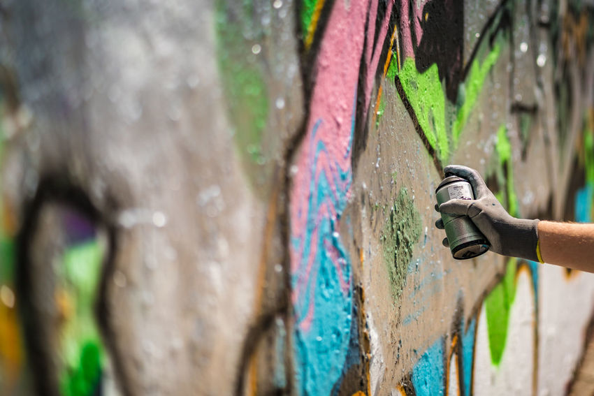Mauerpark Bernauer Straße, Berlin Berlin Art And Craft Close-up Creativity Day Graffiti Hand Human Body Part Human Hand Multi Colored One Person Outdoors Paint Spray Paint Spraying Wall - Building Feature #FREIHEITBERLIN