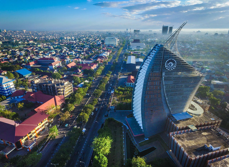Makassar is one of the fastest growing city in Indonesia. It is one of the biggest city in Indonesia and the main hub for the east side of the country. The picture taken early in the morning just after the sunrise. Drone  Lost In The Landscape Makassar Makassar-Indonesia Sulawesi Sulawesi Selatan Aerial Aerial Landscape Aerial Photography Aerial View Aerialphotography Aerialview Indonesia, Indonesia_photography Makassar In Indonesia Makassarcity Sulawesiselatan Sulsel