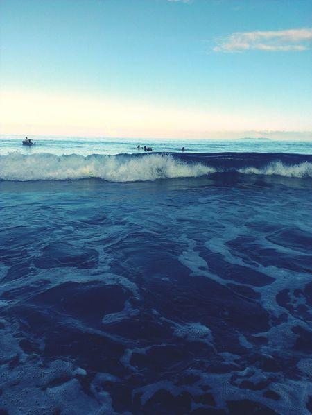Beach Sea Surf Time