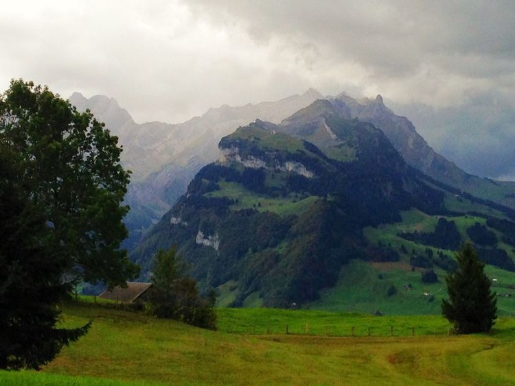 Landscape_photography Nature Mountain View Mountains Swiss Mountains Switzerland Swiss Alps Stormy Weather Storm Coming Soon Storm Clouds Appenzell Landscapes With WhiteWall