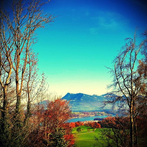The view to mount Rigi Swiss Alps Swiss Mountains Rigikulm Canon 70d Having A Walk EyeEm Nature Lover Rigi Kulm