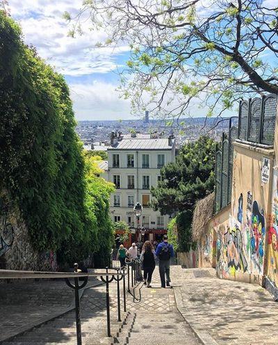 Detodounpoco Montmarte Montmartre, Paris