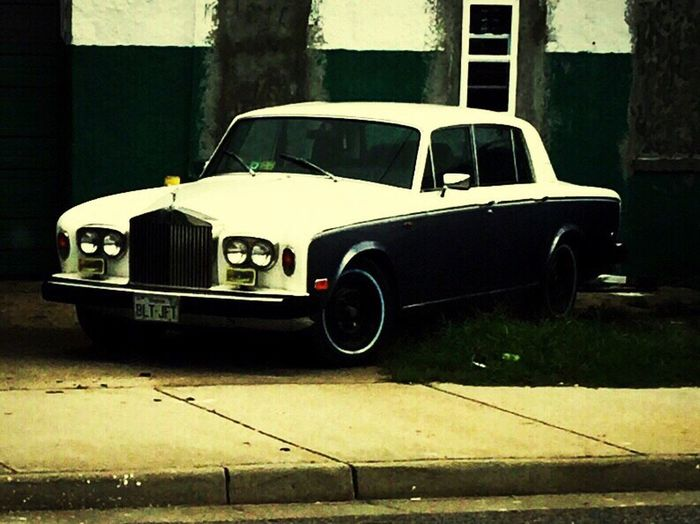 The Drive Outdoors Rolsroyce