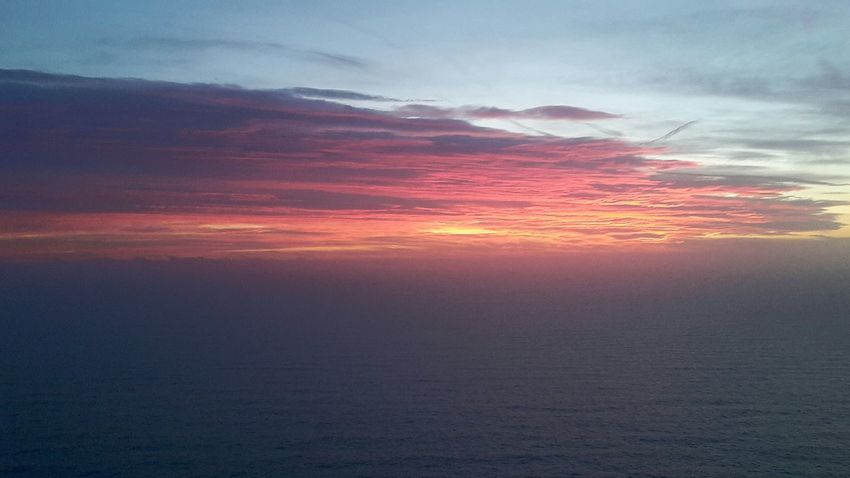 Sunset Cloud - Sky Tranquility Dramatic Sky Beauty In Nature Outdoors Landscape Sea Sky No People Scenics Nature Vacations Beach Water Awe Horizon Over Water Day Liguria,Italy Portofino Italy Portofino Portofino Promontory Portofino Natural Regional Park Travel Destinations Beauty