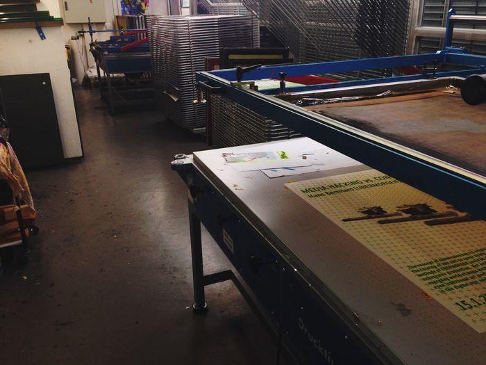 Handmade Print Siebdruck Screen Printing