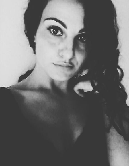 Italiangirl AMPt - My Perspective Selfportrait Photography Blackandwhitephotography Today's Hot Look Curly Hair Popular Photos B&W Portrait Eyeem4photography Artist Open Your Eyes Me Girl Eye4photography Photooftheday  Black And White Collection  EyeEm Best Shots - Black + White Taking Photos Photooftheday Photoshoot Nuances