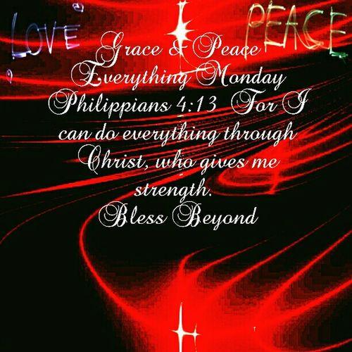 Grace & Peace Everything Monday