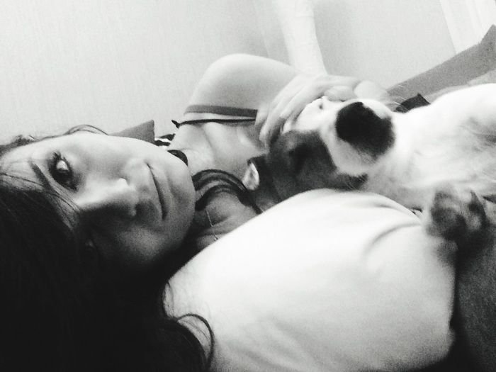 Hello World That's Me I Love My Dog Jackrussellterrier Jackrussell Russian Girl