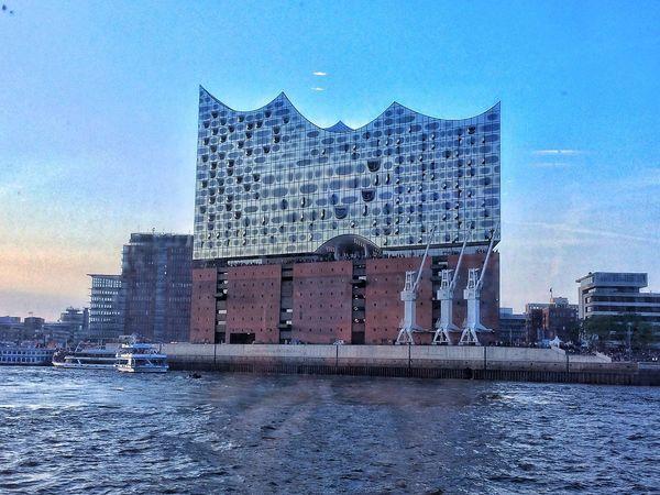 Elbphilharmonie Hamburg Elbphilharmonie Ahoi Moin Architecture Building Exterior Built Structure Sky City Building Nature