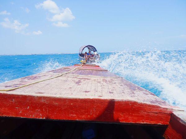 Beach Boating And Fishing Beach Boats Africa Aficion First Eyeem Photo Zanzibar_Tanzania