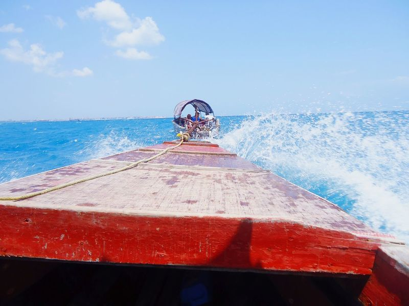 Beach Boating And Fishing Beach Boats Africa Aficion First Eyeem Photo Zanzibar_Tanzania