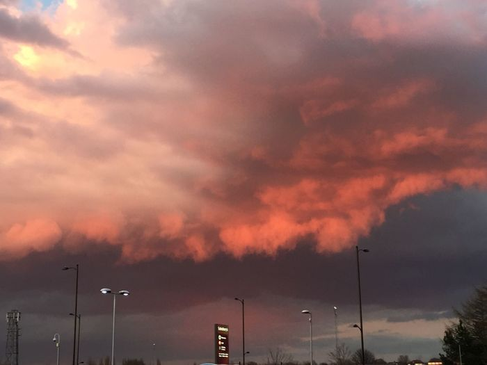 Red Sky At