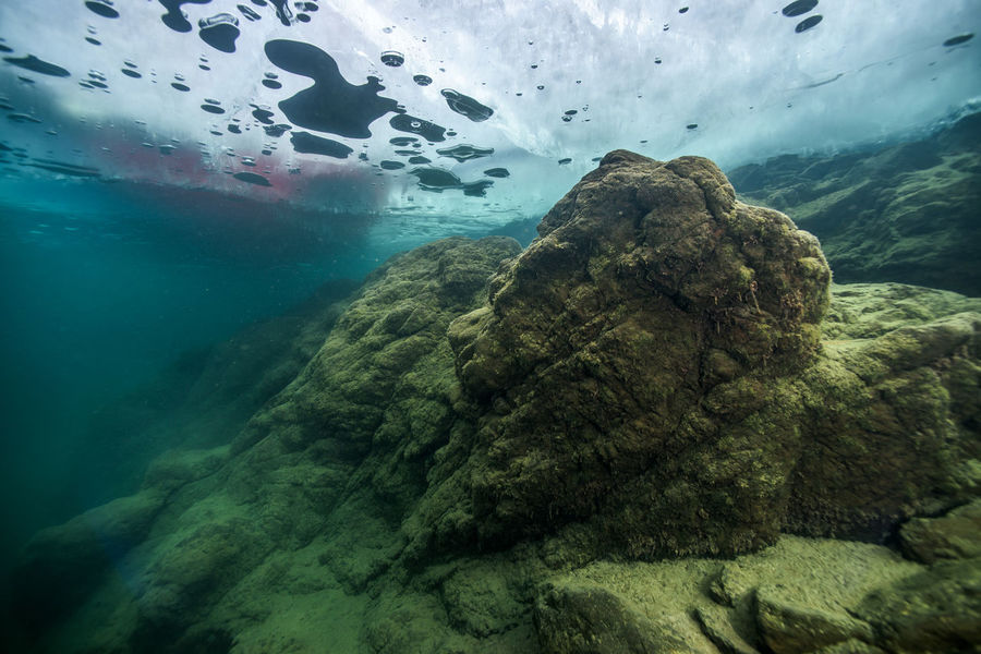 winter underwater Aerial View Beauty In Nature Blue Cloud Cloud - Sky Day Geology Idyllic Landscape Natural Pattern Nature No People Non-urban Scene Ocean Outdoors Physical Geography Remote Rock Rock - Object Rock Formation Scenics Sky Tranquil Scene Tranquility Water