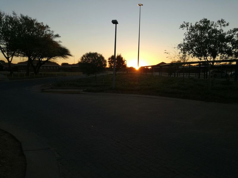 sunset Silhouette Sunset Sky Outdoors Nature