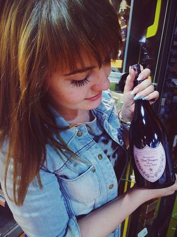 Champagne Donperignon Party Enjoying Life