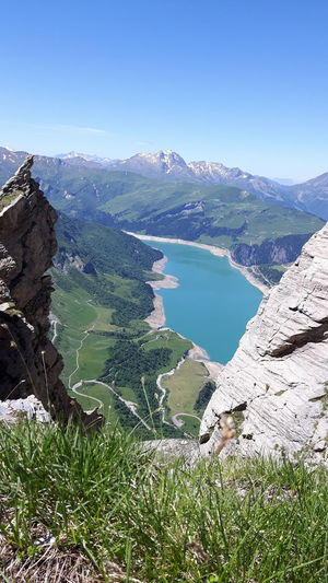 Le rocher du vent!! Mountain Mountain Range Tranquility Beauty In Nature