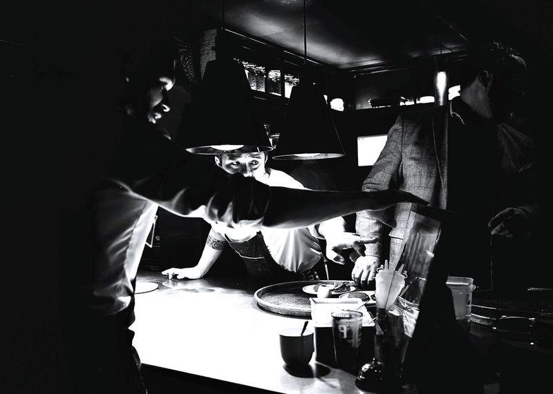 Only Men Teamwork Moon Restaurant Chef At Work Cheflife Serving Food And Drinks Food Kitchen Adam Toren Inspiration Chef Working Busy Service Food And Drink Black & White Photography Teamwork Cheff Chefstalk