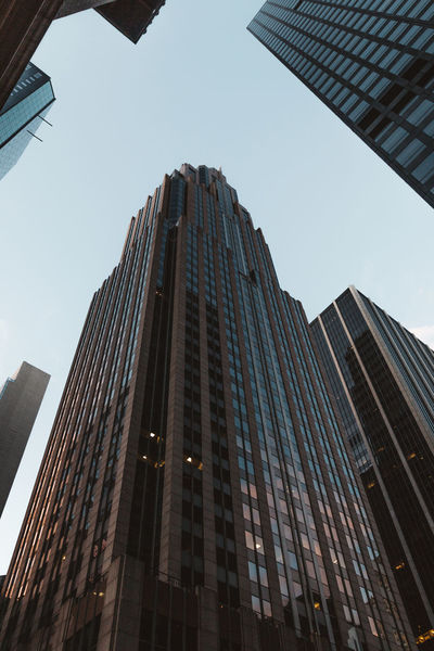 Architecture New York New York City VSCO Architecture Building Exterior Built Structure City Corporate Business Day Growth Low Angle View Modern No People Outdoors Sky Skyscraper Tall Tower Vscocam