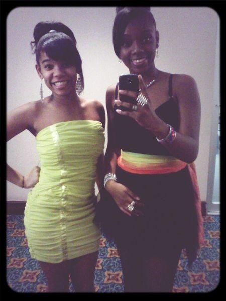 Malia and I :)