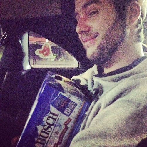 Will sure does LOVE his Busch beer?? Buschbeer Beer Latenightruns William