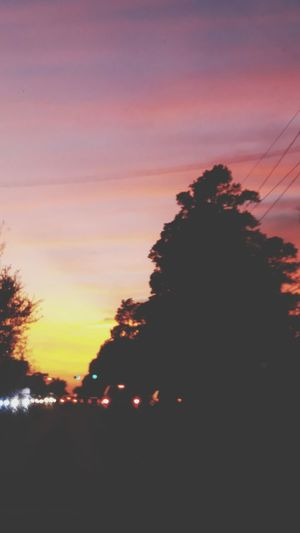 evening skies United States America Texas Pink Driving Dramatic Sky Scenics Beauty In Nature Day Multi Colored Outdoors Nature Sky