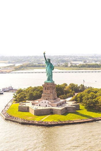 New New York New York City Helicopter View  Helicopter Aerial Photography Aerial View Aerial Shot From My Window From My Point Of View Streetphotography Statue Of Liberty Statue Street Photography In The Air EyeEm Best Shots EyeEm Nature Lover EyeEm Landscape EyeEm