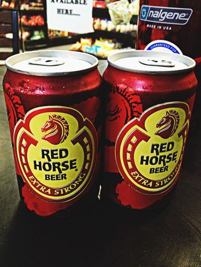 Redhorse Enjoying Life
