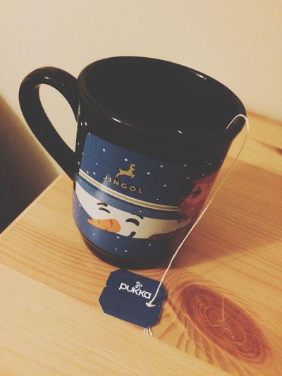 ' night time Tea Teatime Night Night Time Pukka Pukkatea Snowman Tea Time Tea - Hot Drink Mug