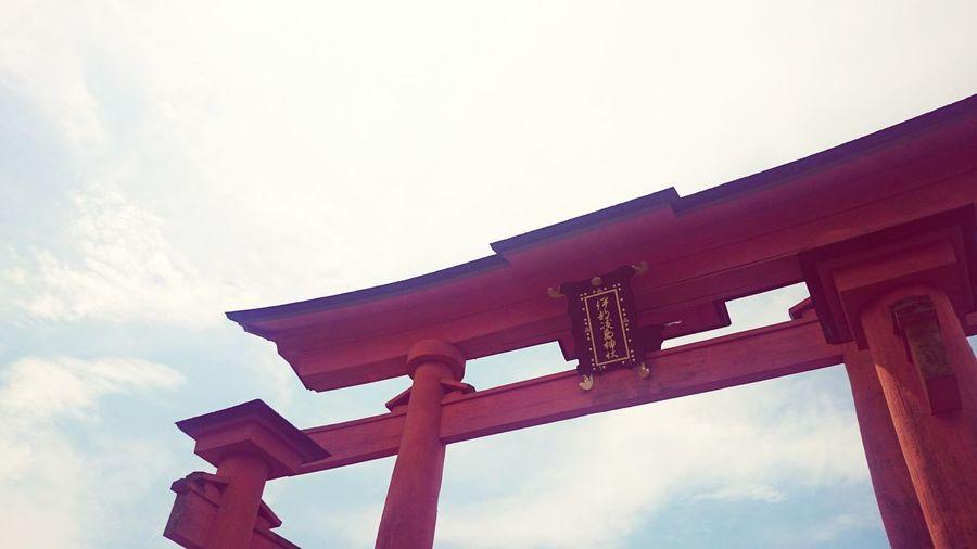 2度目の宮島。 Hiroshima -Miyajima 厳島神社(Itsukushima Shrine) 大鳥居(o-torii Gate)