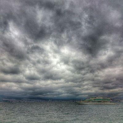 Bugün hava bu :-/ BirazHDR Anıyakala Izmir