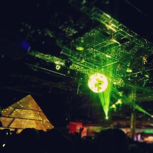 Illuminati was in full force last night! Tracks Denver Evilpyramid