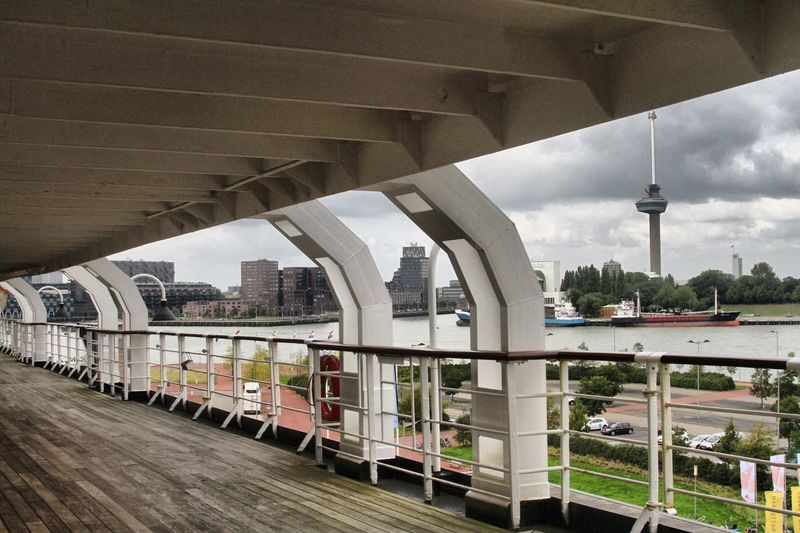 MS Rotterdam Euromast Haven Rotterdam