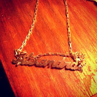 Alexandra♥ Name Secondname Kawai Lindo  cadenita instalike instame instaeffects picoftheday picdelayanineday ★