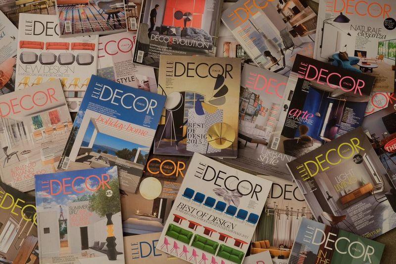 Design Home Elle Magazine Architecture Magazine Abundance Style