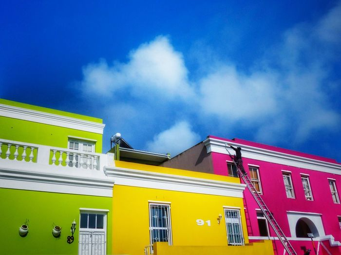 Bo-Kaap Malay, Malay Quarter in Cape Town, South Africa, Part 8. The area is known for its brightly colored houses and cobbled streets. Malay Quarter Bo-kaap South Africa Cape Town