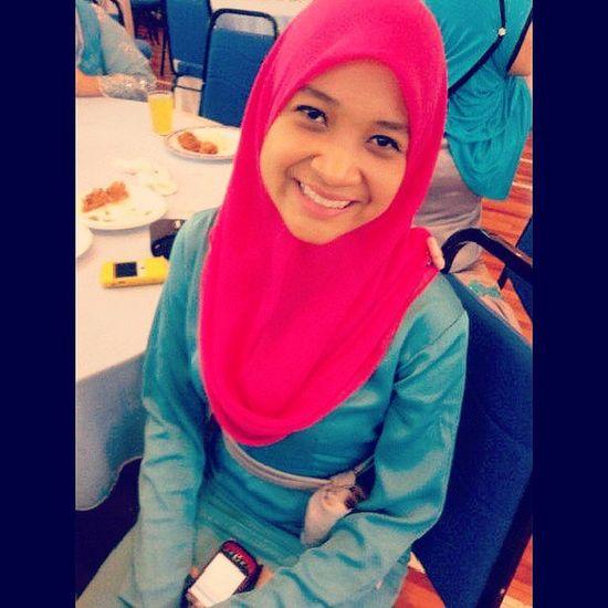 Keep smiling Eykaa :) Throwback 2012 Perak Kenduri wedding sedara