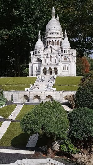 Religious Architecture History Architecture Sacre Coeur France 🇫🇷 Miniature Tree Architecture